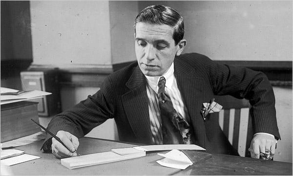 Charles Ponzi (1882 - 1949)